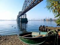 міст через Дніпро з 2-ої Світової Війни